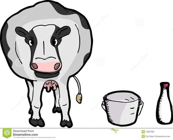 564x457 Cute Cartoon Cow Stock Photography