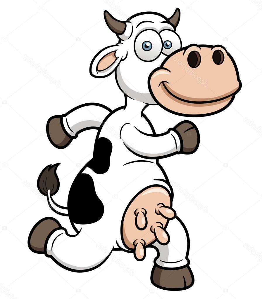 896x1024 Unique Running Cow Cartoon Photos