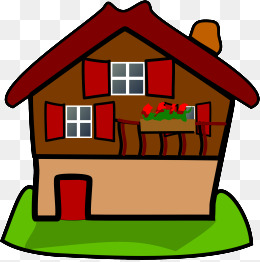 260x262 Cartoon House Background, Cartoon, Background, House Png And Psd