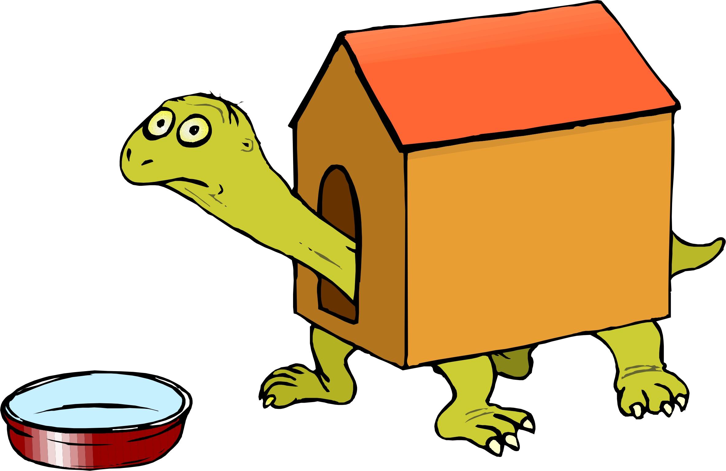 2368x1538 Cartoon Dog House