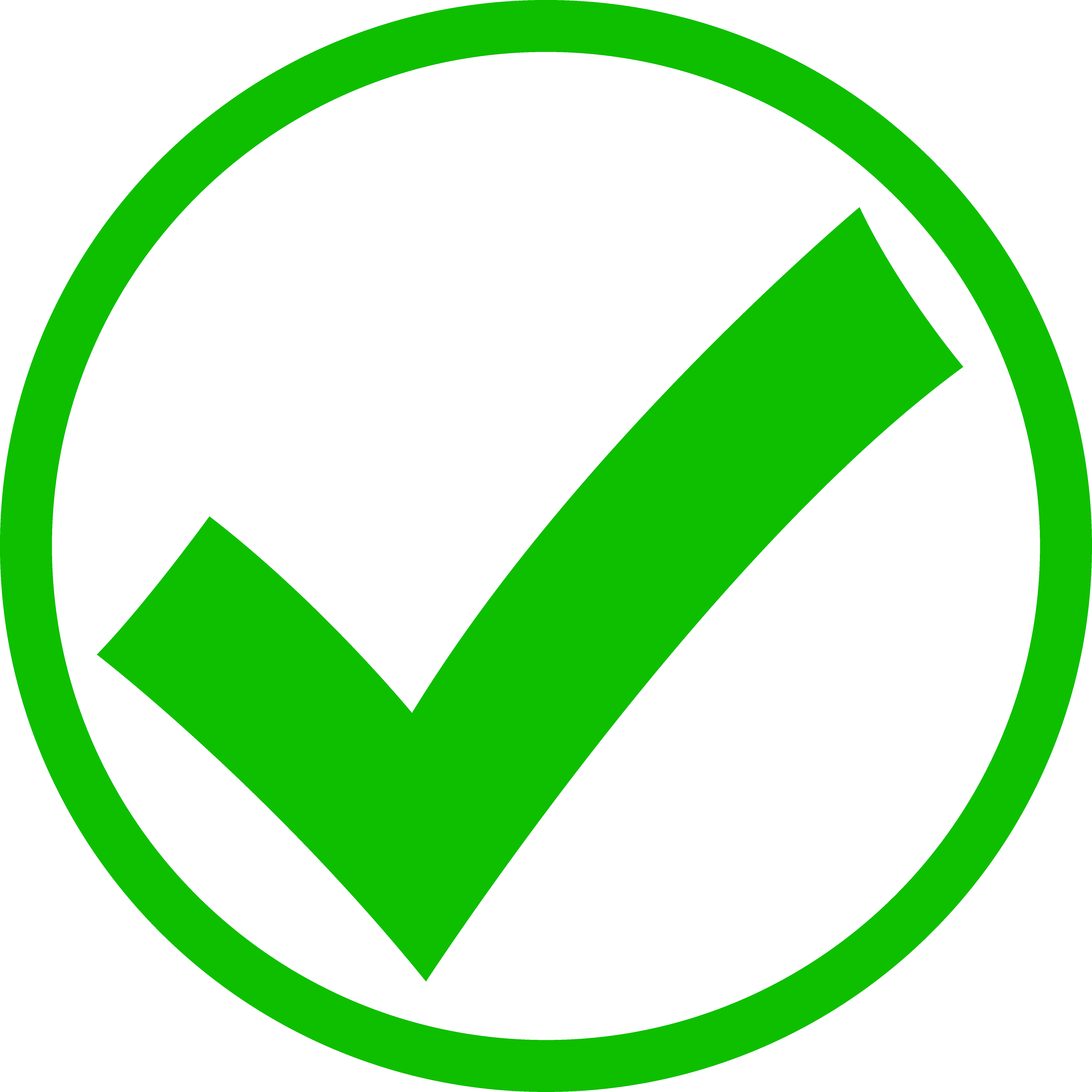 5695x5695 Green Check Mark In Circle