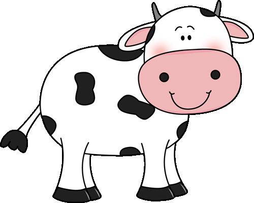 500x399 Cow Clipart