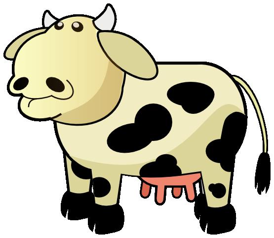 555x483 Cow Clipart Cub