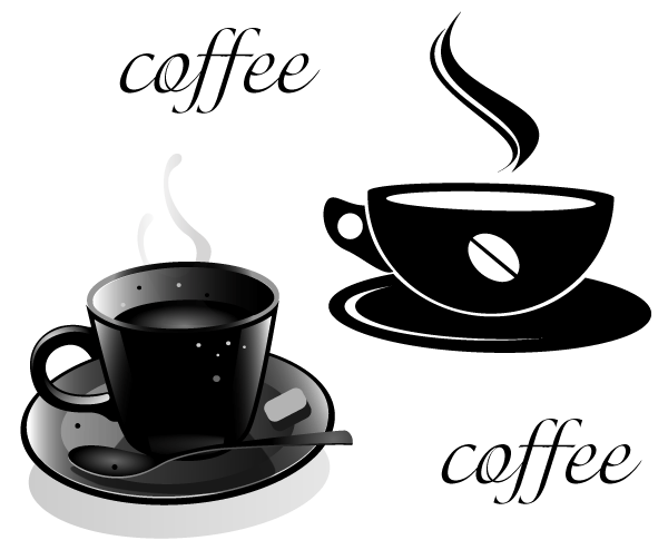 600x494 Cup Of Coffee Vector Free, Vector Images