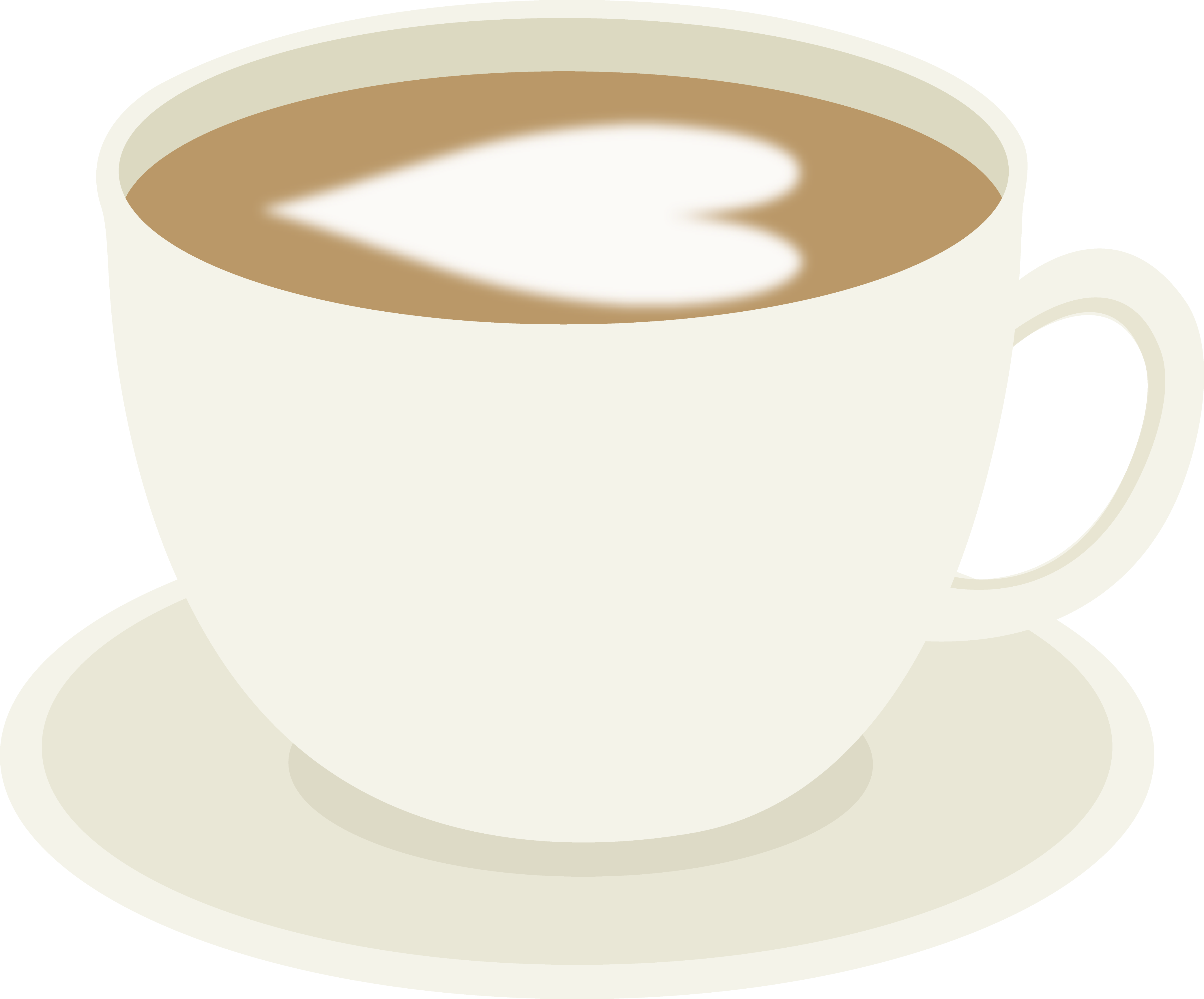 4173x3462 Cup Of Coffee With Cream Heart