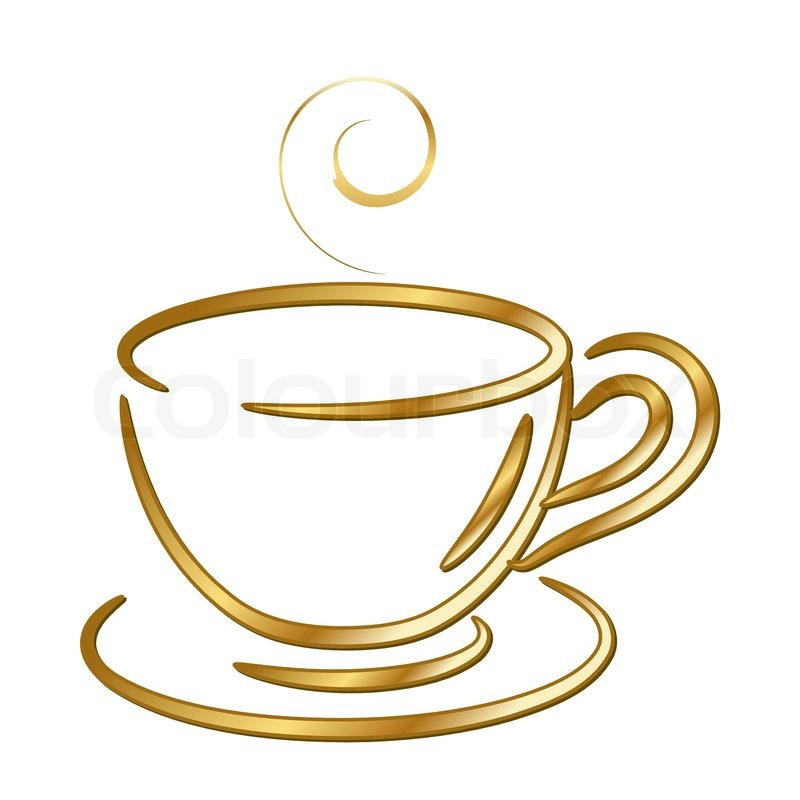 800x800 Free Clipart Of A Cup Of Coffee