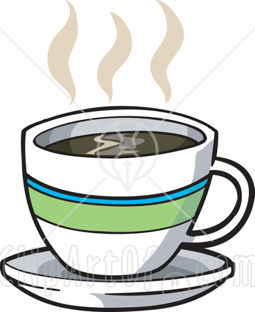368x450 Hot Cup Of Coffee Clipart