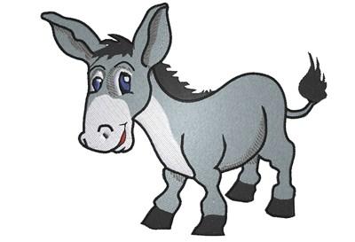 400x273 Cartoon Donkey Clipart