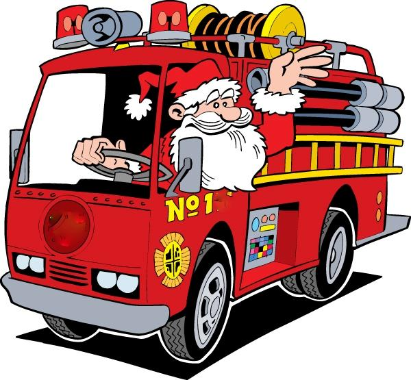 600x555 Santa Comes To Bohemia By Fire Truck On Saturday December 9th