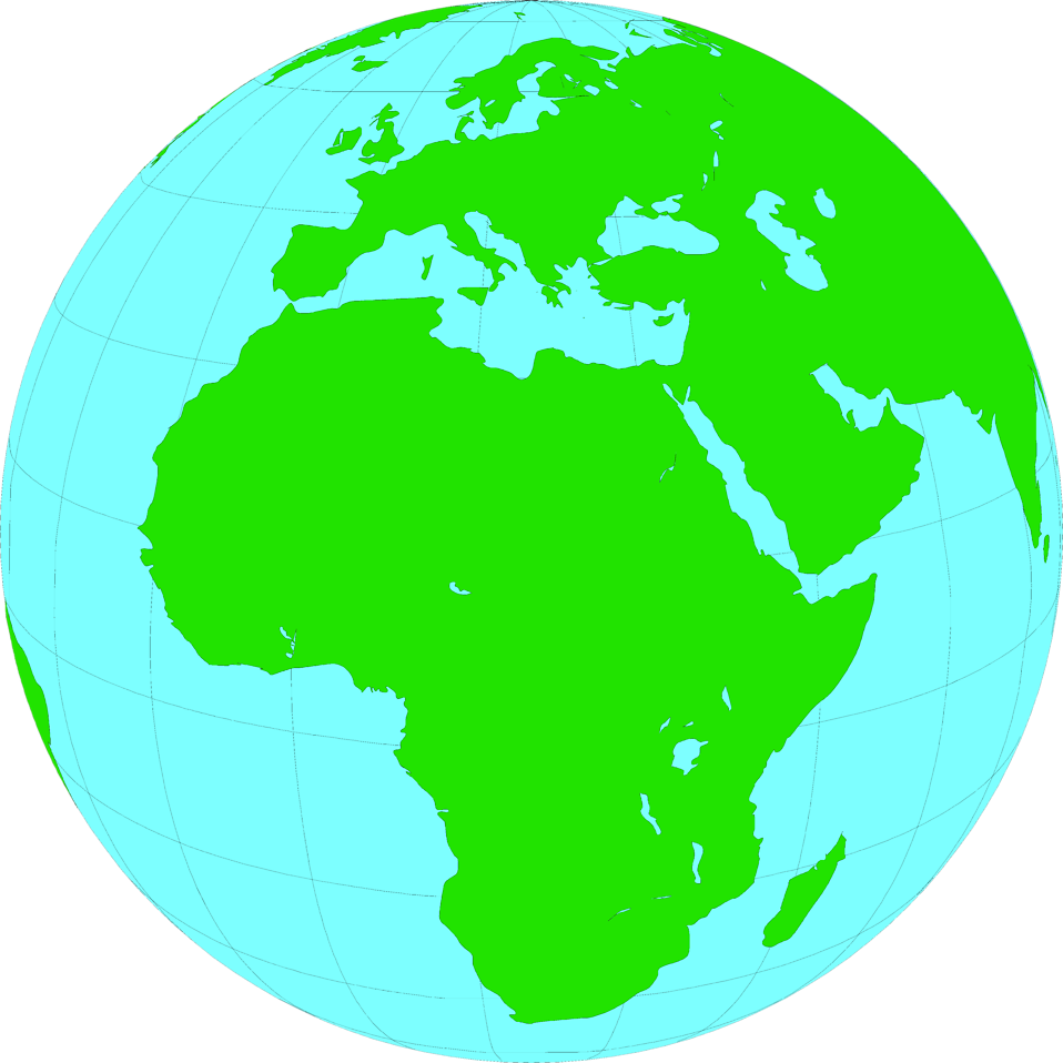 958x958 Africa Clipart Earth Globe