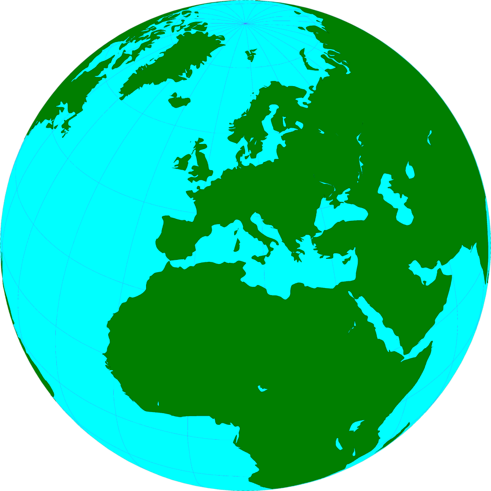958x958 Transparent World Globe Clipart