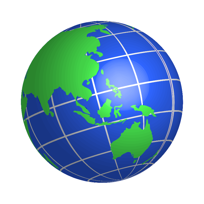 800x800 World Globe Clipart