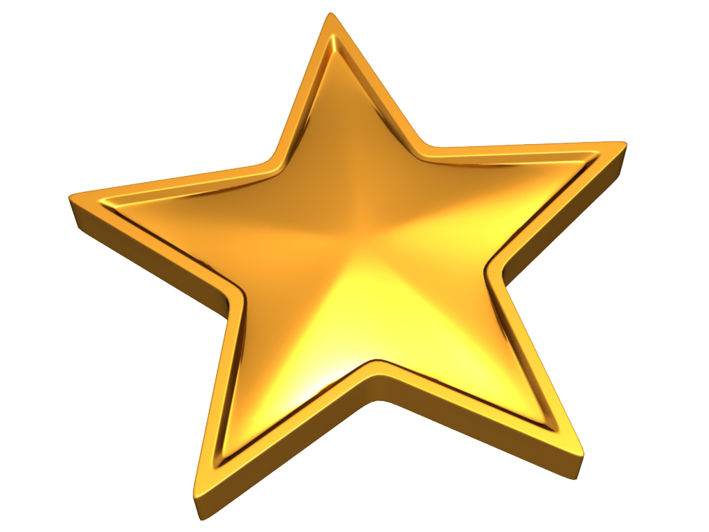Picture Of A Gold Star