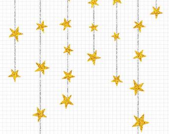 340x270 Glitter Clipart Gold Star