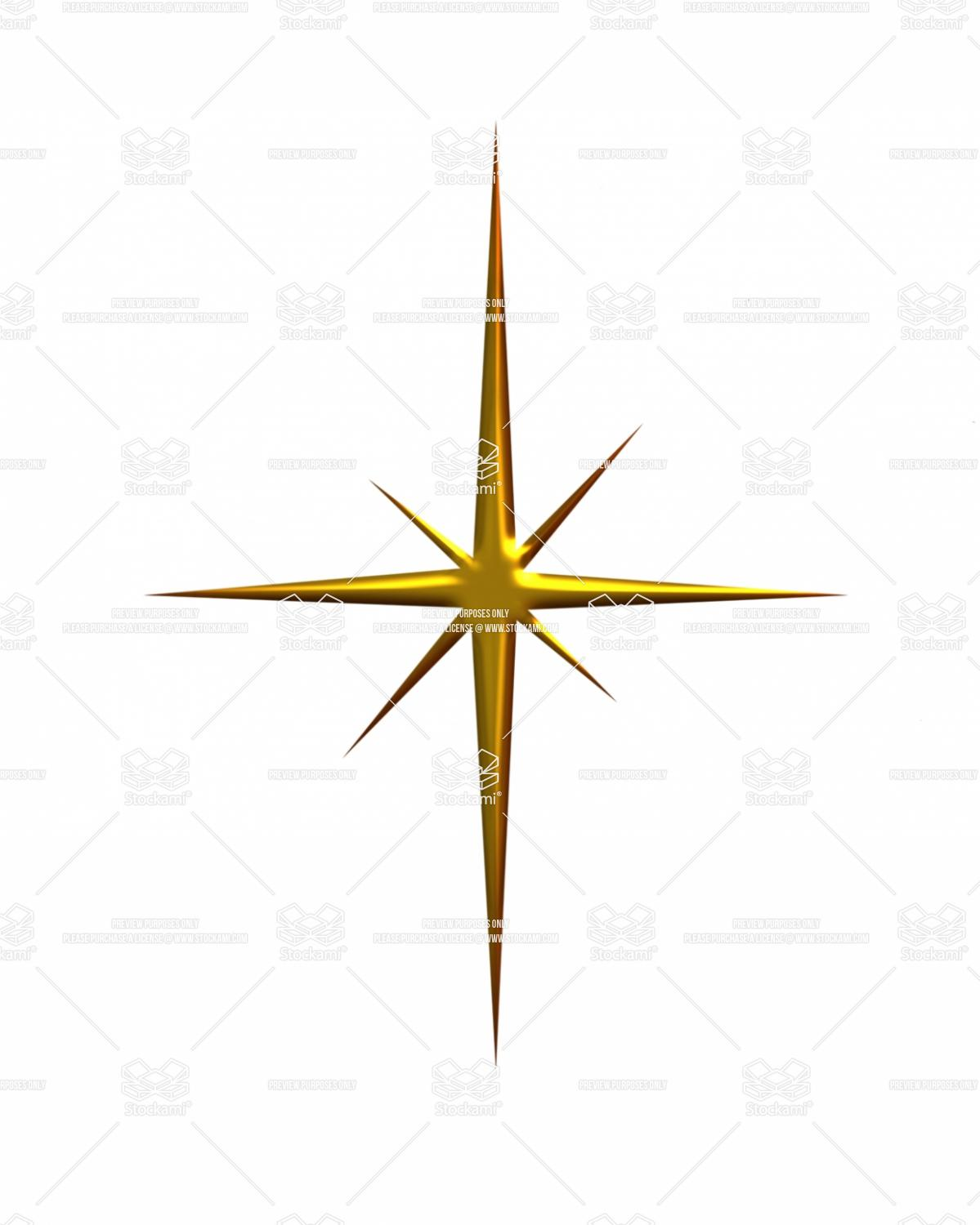 1199x1500 Gold Christmas Star Clipart