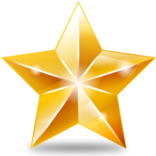 512x512 Christmas Gold Star Png File Png Mart
