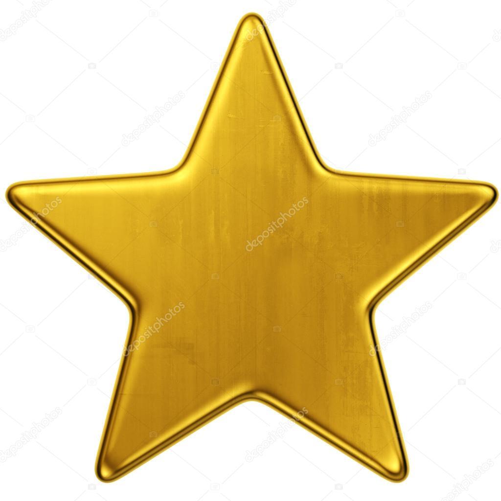 1024x1024 Gold Star Stock Photo Zentilia