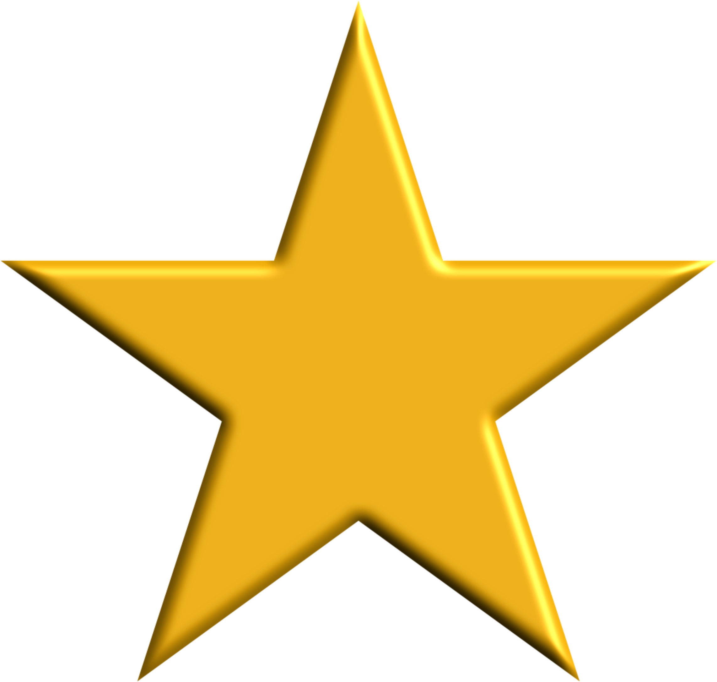 2284x2172 Space Gold Star Clipart