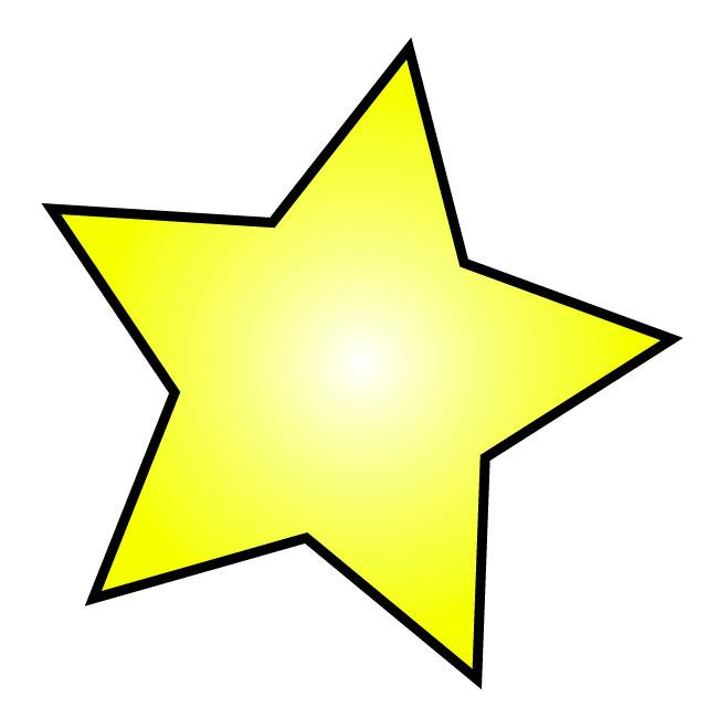 650x650 Star Jpg Clipart