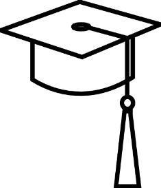 235x273 Graduation Cap Clipart Clipart 2