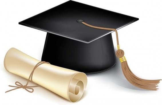 566x368 Graduation Cap Free Vector Download (389 Free Vector)