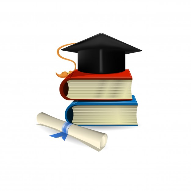 626x626 Graduation Hat And Diploma Icons Free Download