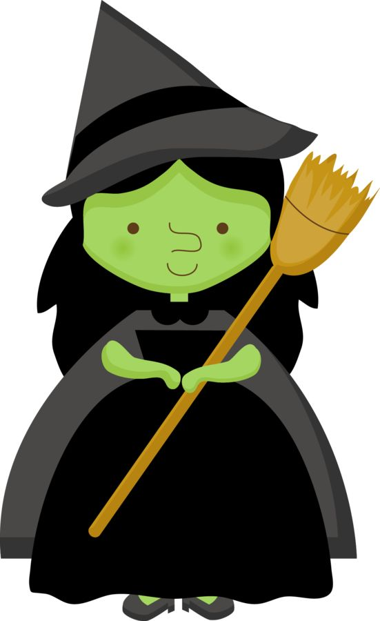 Picture Of A Halloween Witch