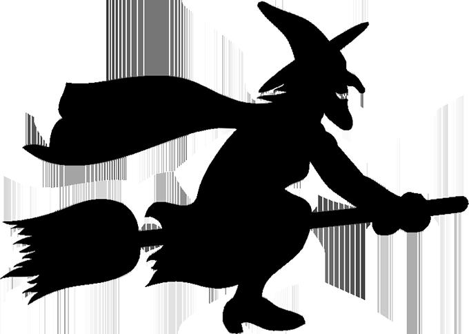 680x484 Halloween Witch Clip Art