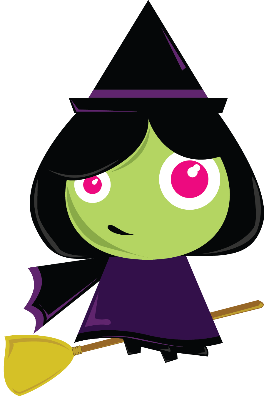 898x1345 Witch Hat Clipart Cute Halloween Witch