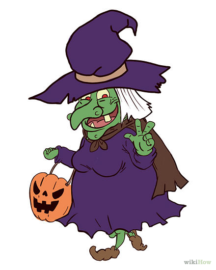 440x550 Collection Witch Halloween Pictures