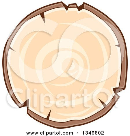 450x470 Clipart Of A Wood Log
