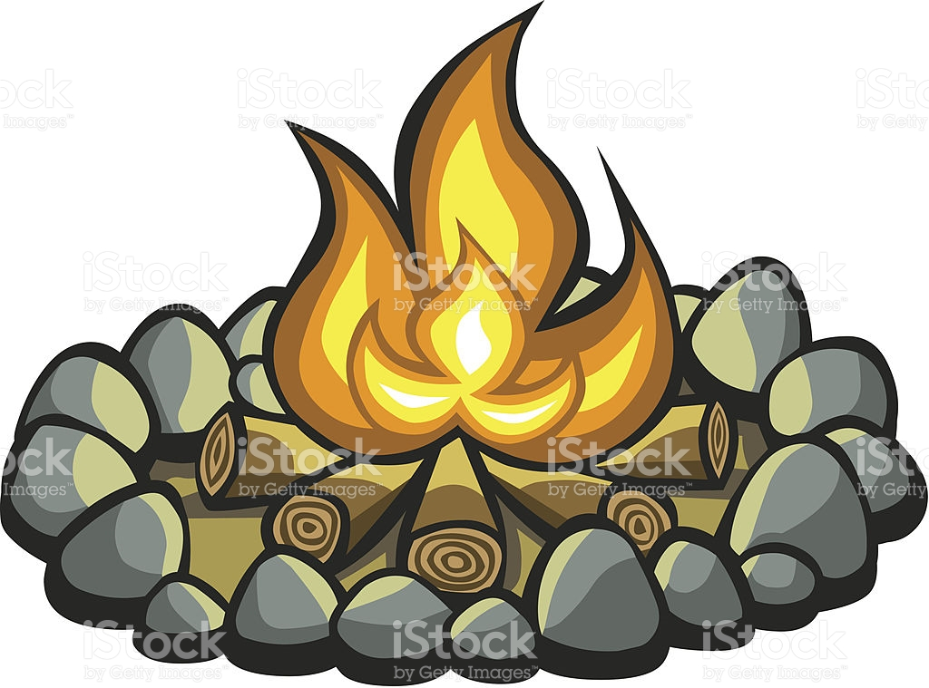1024x759 Camp Fire Clipart Log Fire