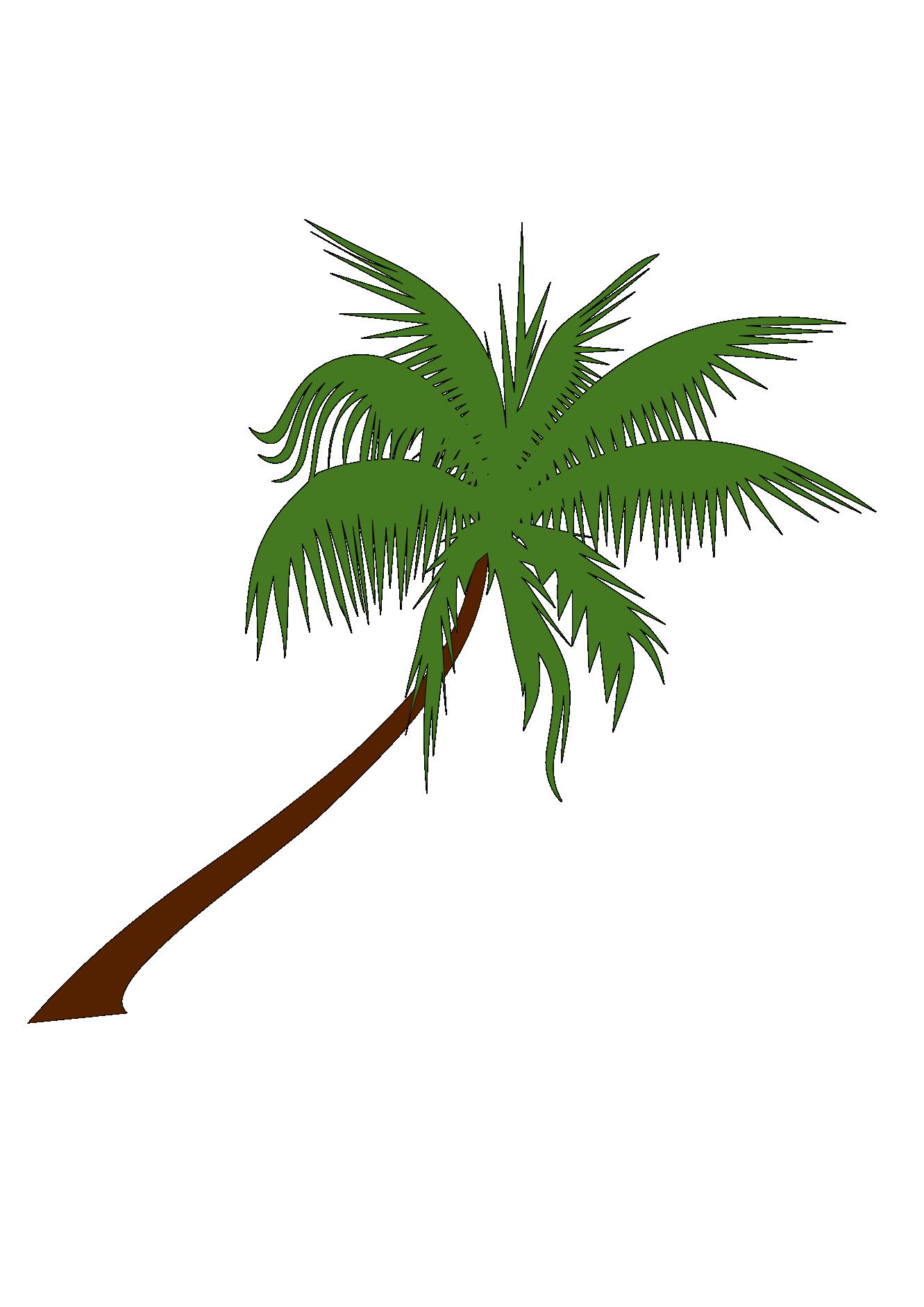 1331x1882 Palm Tree Graphic