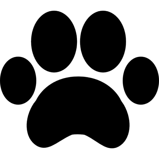626x626 Paw Print Outline Icons Free Download