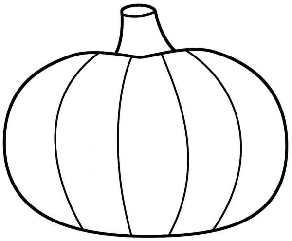600x495 Appealing Pumpkin Coloring Pages 19 For Coloring Pages For Kids