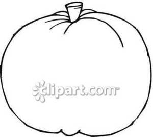 300x267 Pumpkin Outline Clipart Black And White Clipart Panda