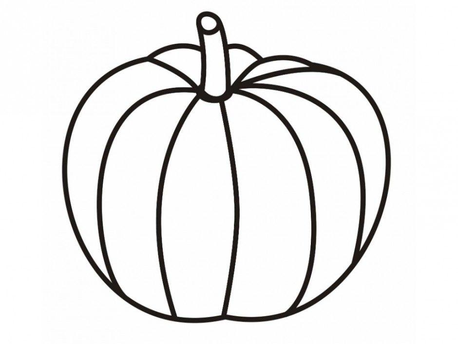 940x705 Pumpkin Clipart Blank