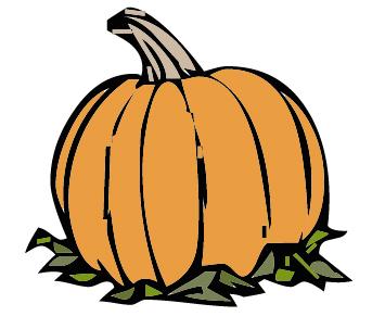 355x303 Clip Art Of Pumpkin Image