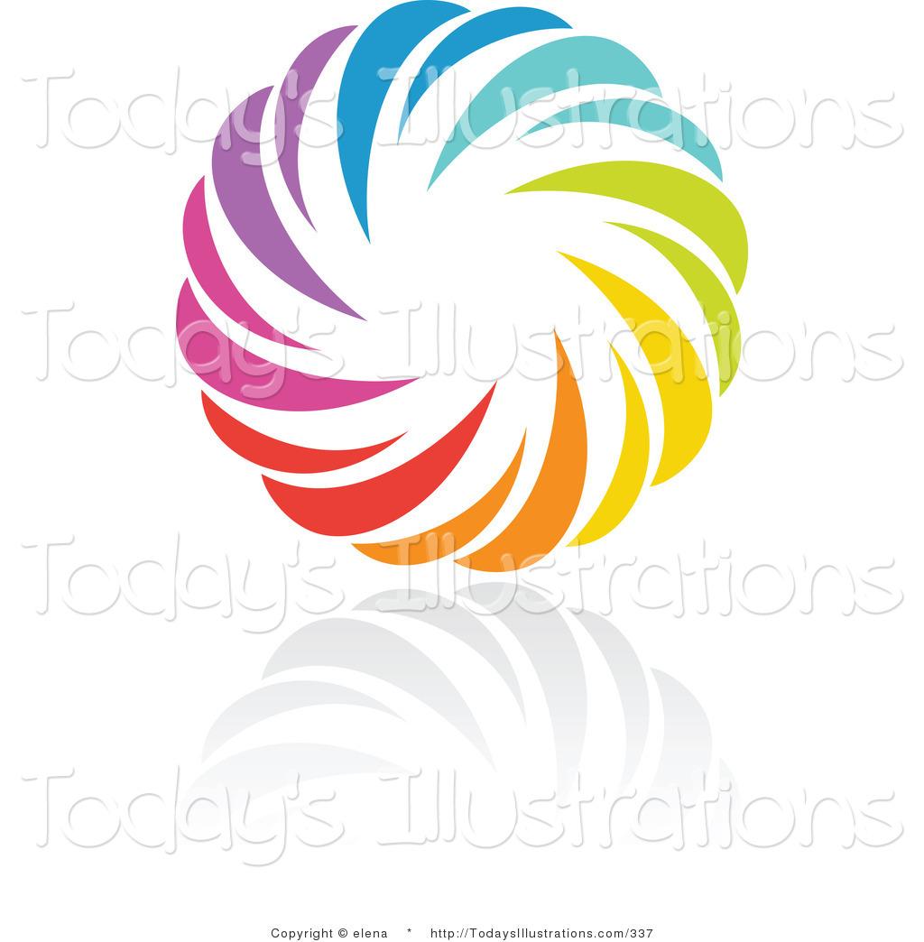 1024x1044 Clipart Of Rainbow Circle Logo Design Orpp Icon