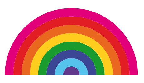 462x266 Clipart Of A Rainbow Free To Use Clip Art Resource