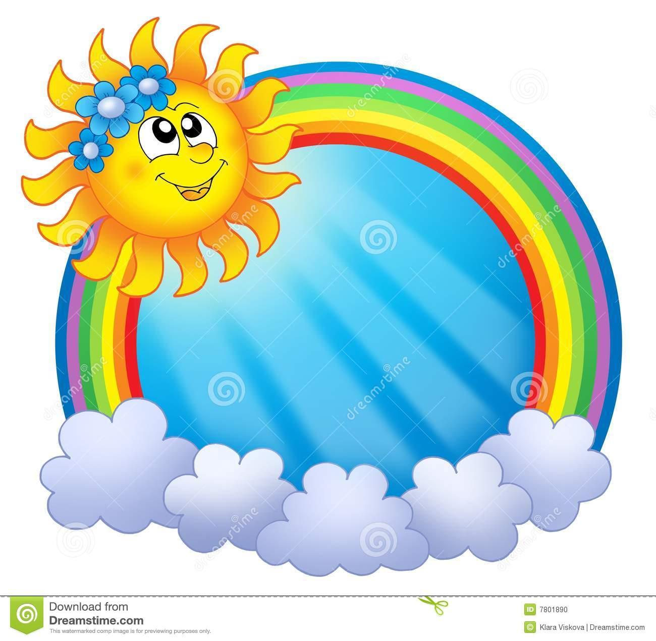 1300x1271 Drawn Rainbow Cloud Clip Art