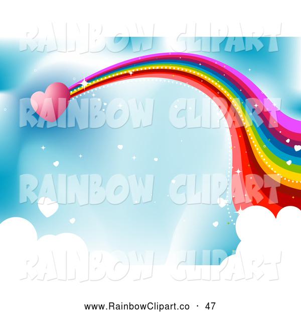 600x620 Pink Rainbow Clipart