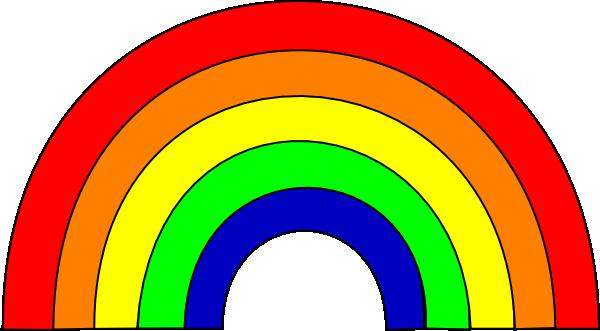 600x331 Rainbow Clip Art