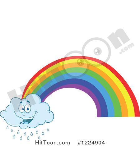450x470 Rainbow Clipart