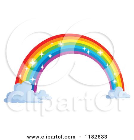 450x470 Rainbow Clipart Small