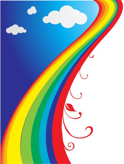 420x553 Cartoon Rainbow Pictures