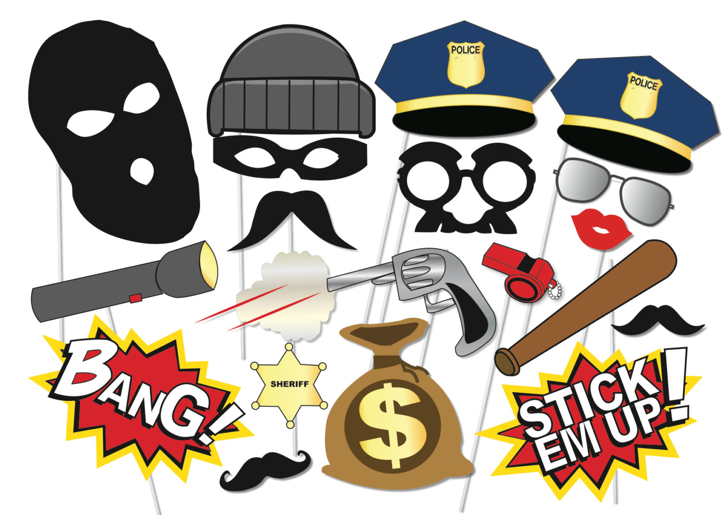 1500x1061 Cop Clipart Cops And Robber