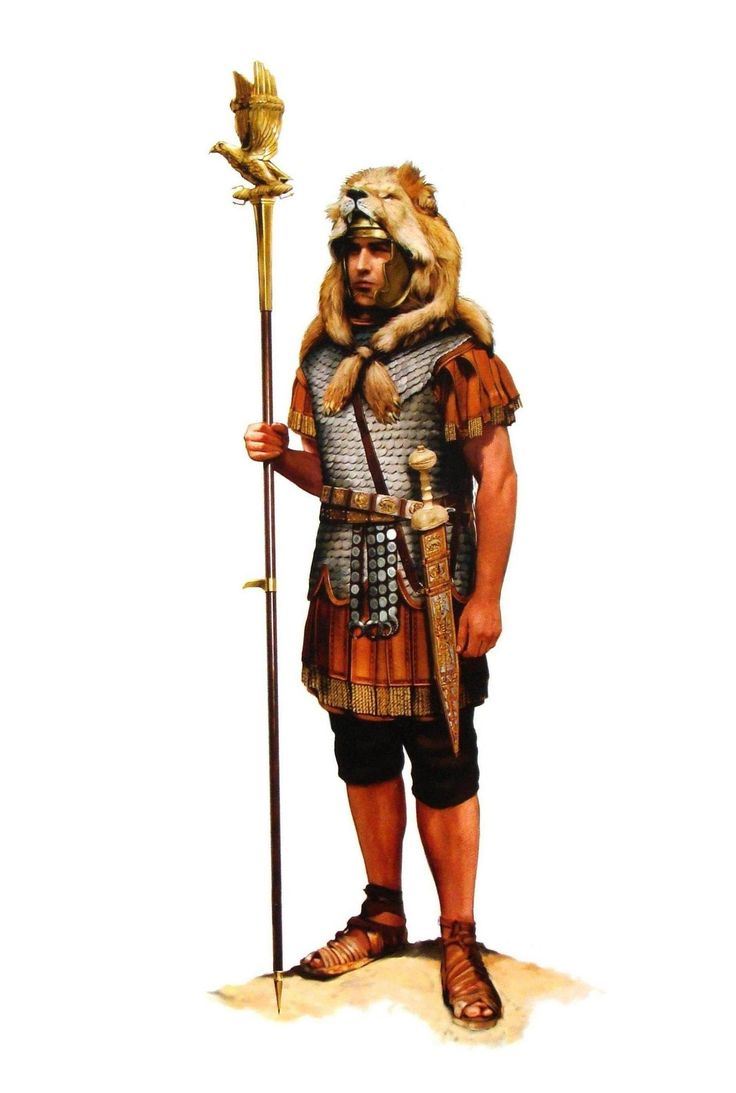 Picture Of A Roman Soldier