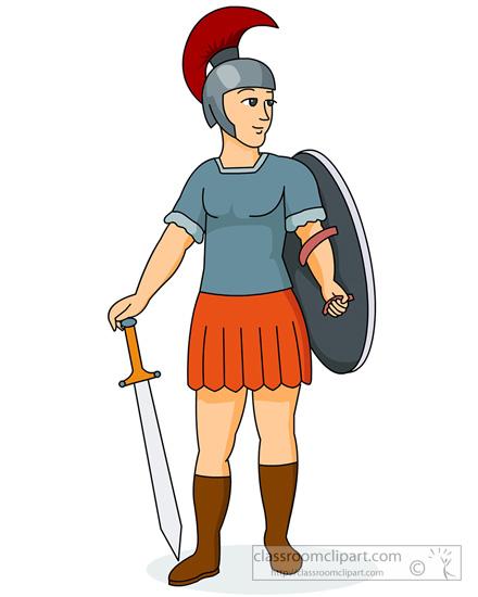 440x550 Rome Clipart Roman Soldier