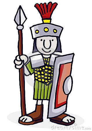 318x450 Warrior Clipart Roman Soldier